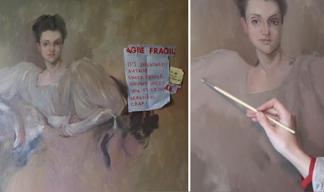 Web Art Academy Club Fine Art Video Lesson