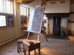 Recreation of Rembrandt's studio
