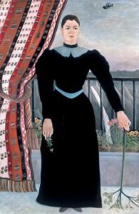 Henri Rousseau Portrait of a Woman