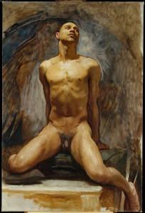 Nude_Study_of_Thomas_E_McKeller_Sargent