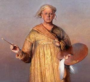 Odd Nerdrum, Self-Portrait as Prophet