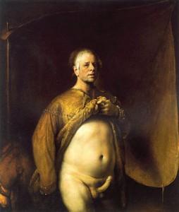 Odd-Nerdrum-SelfPortraitIn-Golden-Robe