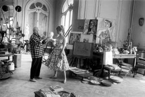 Picasso-And- brigitte bardot-webartacademy
