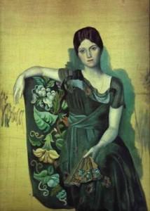 Picasso-and-ballerina Olga Khokhlova-web-art-academy