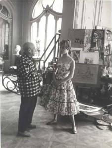 Picasso and Brigitte Bardot