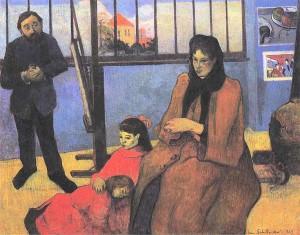 web-art-academy-Gauguin_-_Familie_Schuffenegger_-_1989