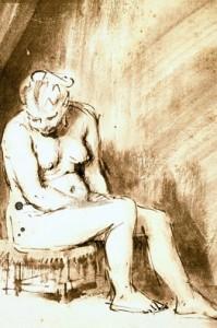 Fake Rembrandt nude