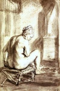 Rembrandt nude