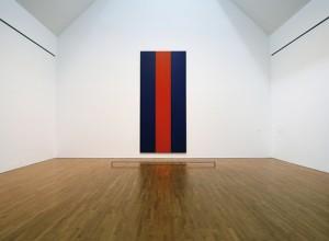 Voice of Fire by American artist Barnett Newman