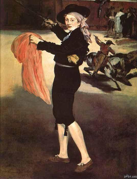 Manet's Oil Painting Technique