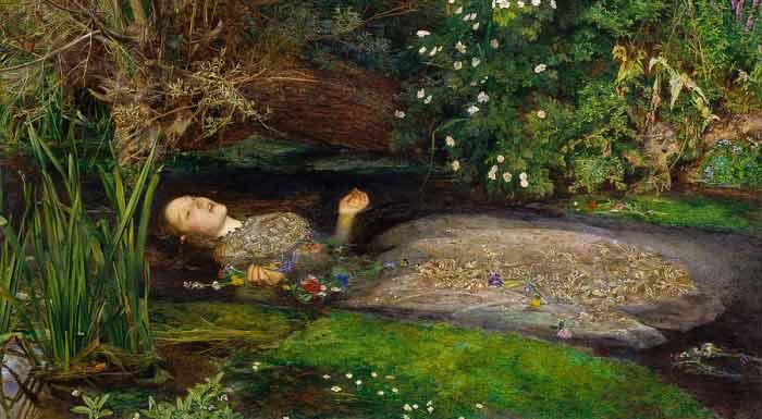Realist Artist in the Studio-Ophelia Millais