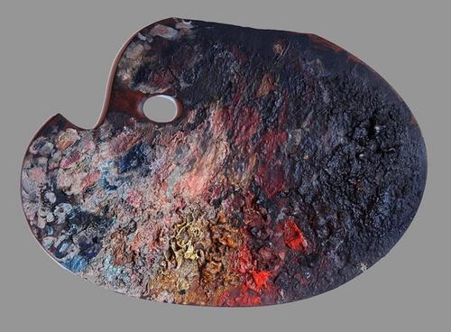 Léon Bonnat's Palette