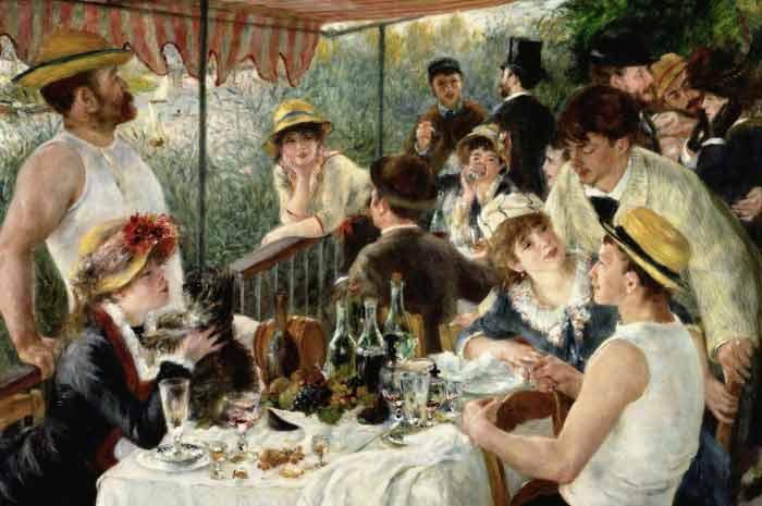 Renoirs Palette - famous painting