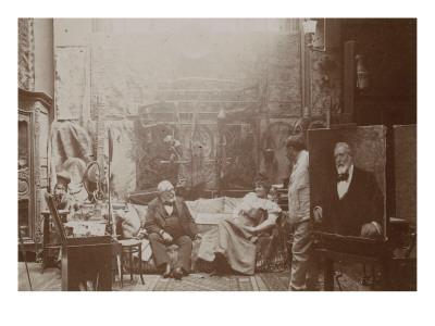 fine-art-portrait-painters-in-the-studio-aime-morot