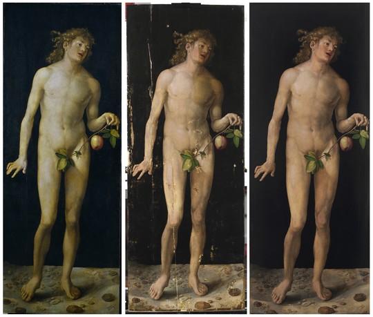 Durer_befor-and-after-restoration-web-art-academy