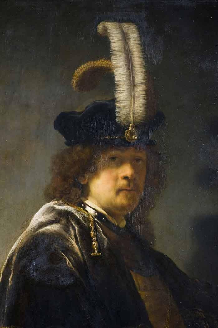 Old-Masters-techniques-Rembrandts-Oil-Painting-Techniques-portrait